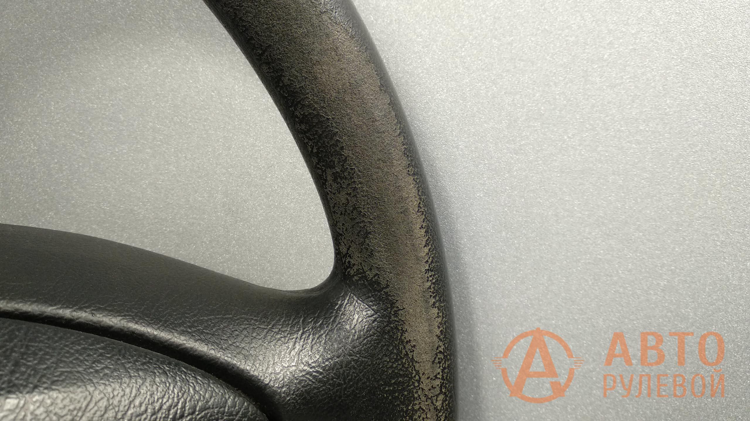 Протёртый руль Citroen Berlingo 1 поколение (M49) рестайлинг 2011 до перетяжки - 4