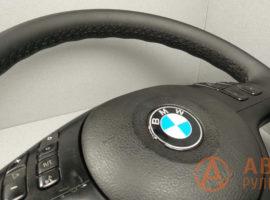 Перетянутый руль BMW 3-Series E46 2002 вид сбоку - 2