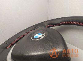 Перетянутый руль BMW X5 E70 2007 вид сбоку - 4