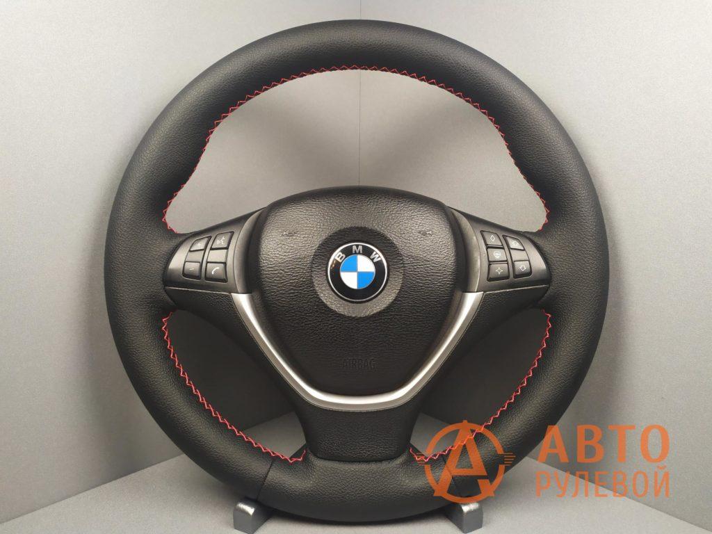 Перетянутый руль BMW X5 E70 2007