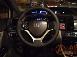 Перетянутый руль Honda Civic 9 поколение 2012 - 4