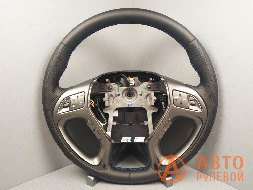 Перетянутый руль Hyundai ix35 1 поколение рестайлинг 2014