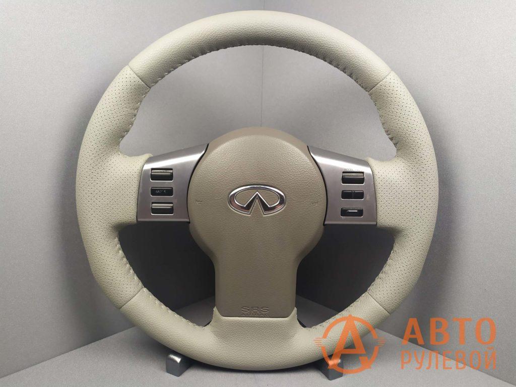 Перетянутый руль Infiniti FX35 1 поколение рестайлинг 2007