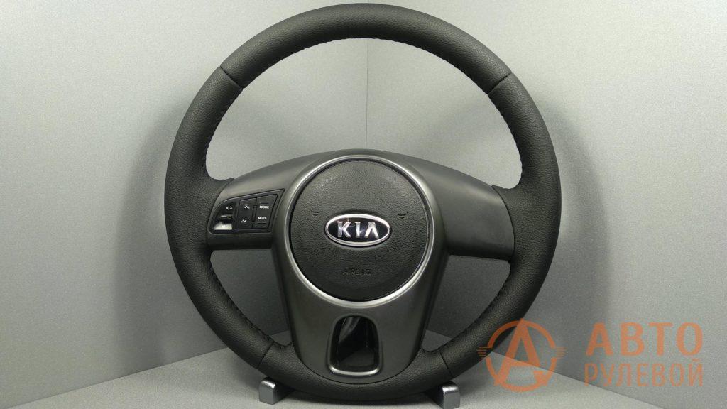 Перетянутый руль Kia Cerato 2 поколение (TD) 2011
