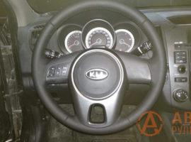 Перетянутый руль Kia Cerato 2 поколение (TD) 2011 - 4