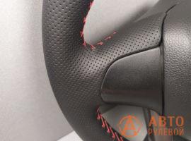 Перетянутый руль Kia Rio 3 поколение 2013 - 4