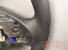 Перетянутый руль Mitsubishi Outlender 2 поколение рестайлинг 2011 - 4
