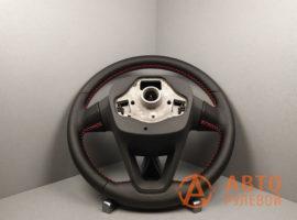 Перетянутый руль SEAT Leon 3 поколение 2013 вид сзади - 1