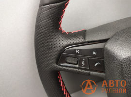 Перетянутый руль SEAT Leon 3 поколение 2013 - 3