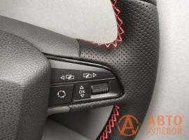 Перетянутый руль SEAT Leon 3 поколение 2013 - 4