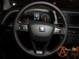 Перетянутый руль SEAT Leon 3 поколение 2013 - 8