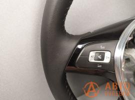 Перетянутый руль Volkswagen Jetta 6 поколение (NF) рестайлинг 2016 - 3