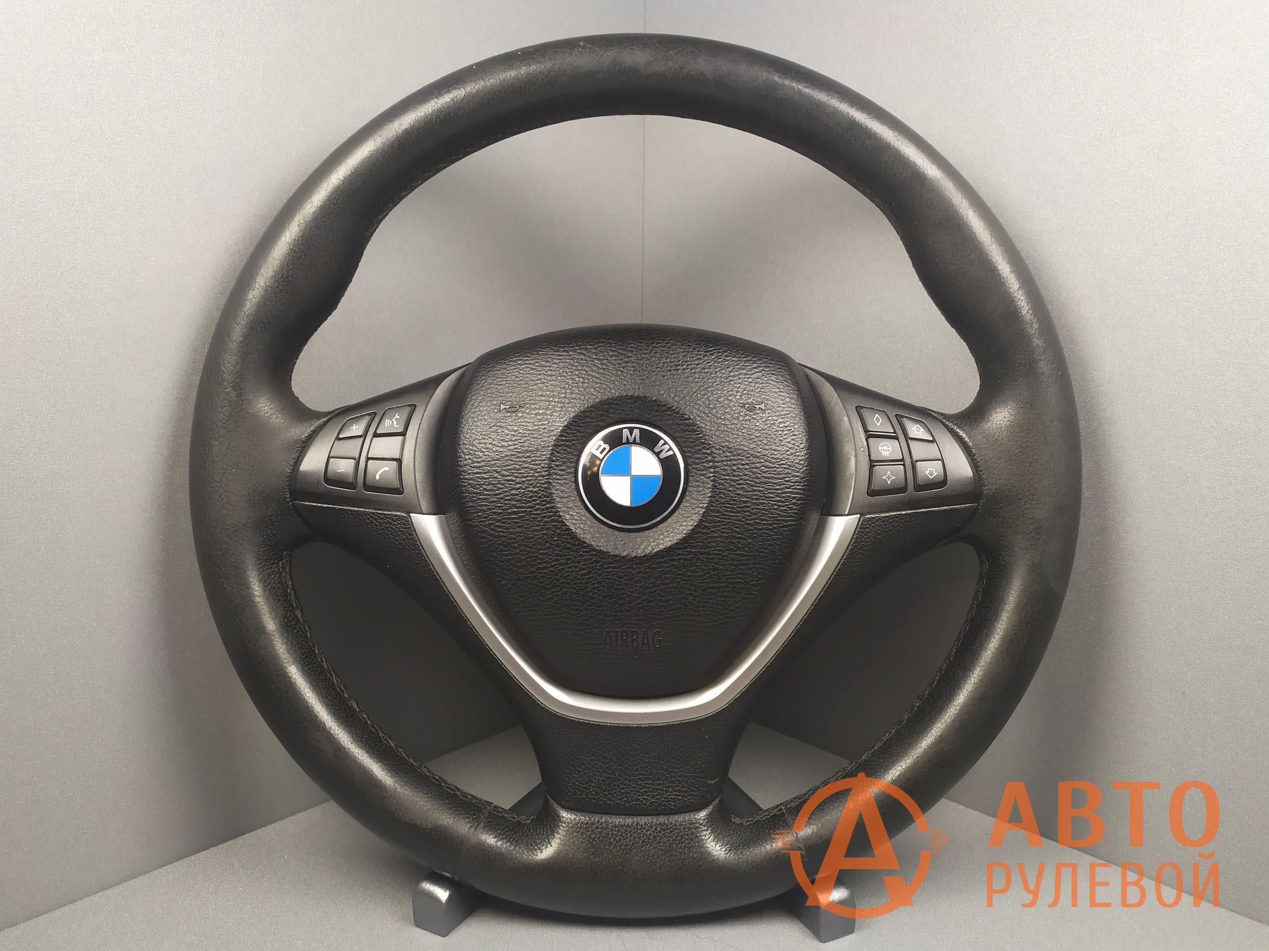 Руль BMW X5 E70 2007 до перетяжки