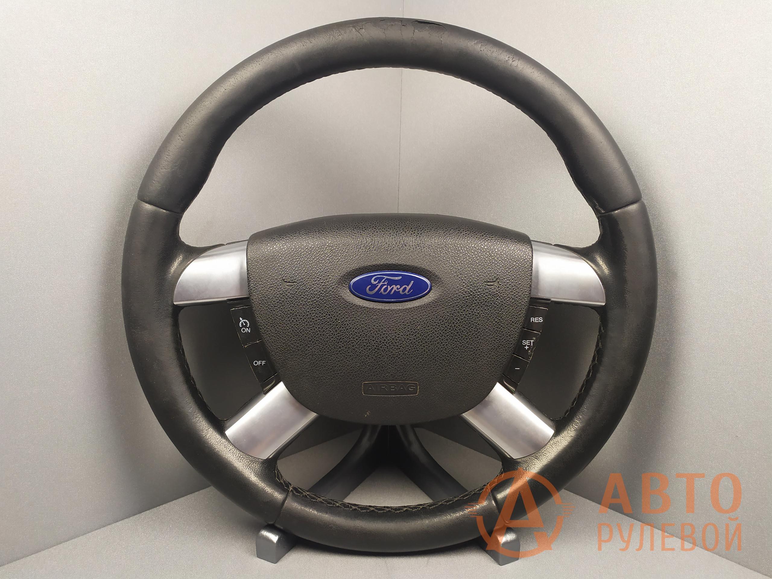 Руль Ford Focus 2 поколение 2007 до перетяжки