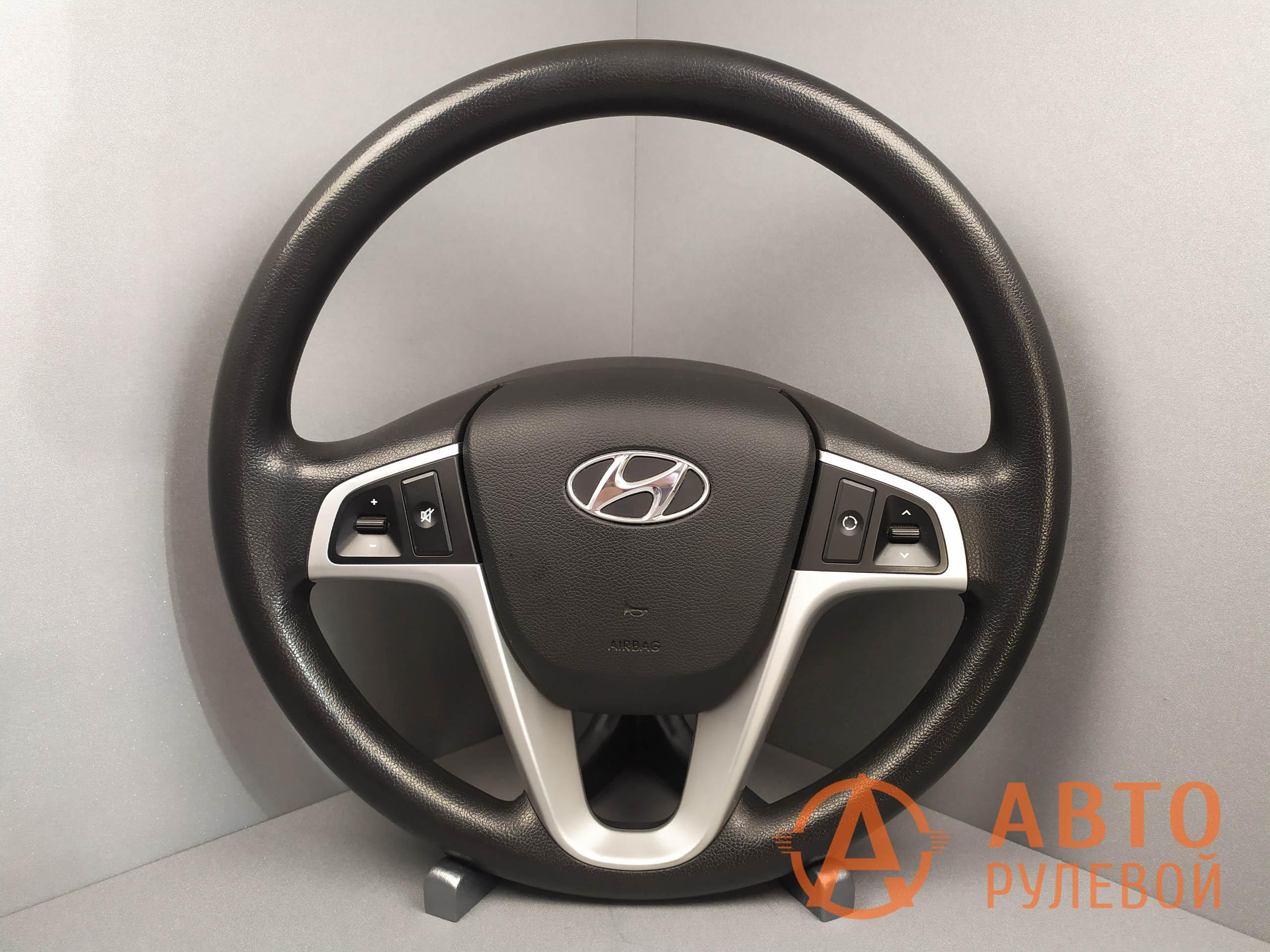 Руль Hyundai Solaris 1 поколение 2012 год до перетяжки