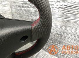 Перетянутый руль в кожу 2 Kia Cerato 4 поколение 2020 вид сзади - 2