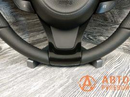 Перетянутый руль в кожу Kia Optima 3 поколение (TF) — рестайлинг 2014 - 4