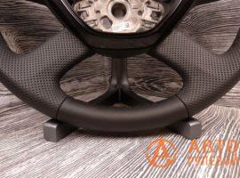 Перетянутый руль в кожу Skoda Superb 2 поколение (3T) - рестайлинг 2015 - 3