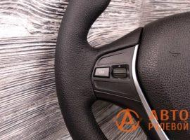 Перетянутый руль в экокожу BMW 1-Series 2 поколение (F20) 2011 - 1