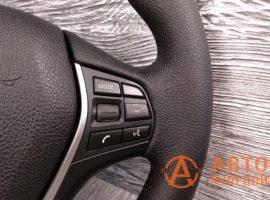 Перетянутый руль в экокожу BMW 1-Series 2 поколение (F20) 2011 - 2