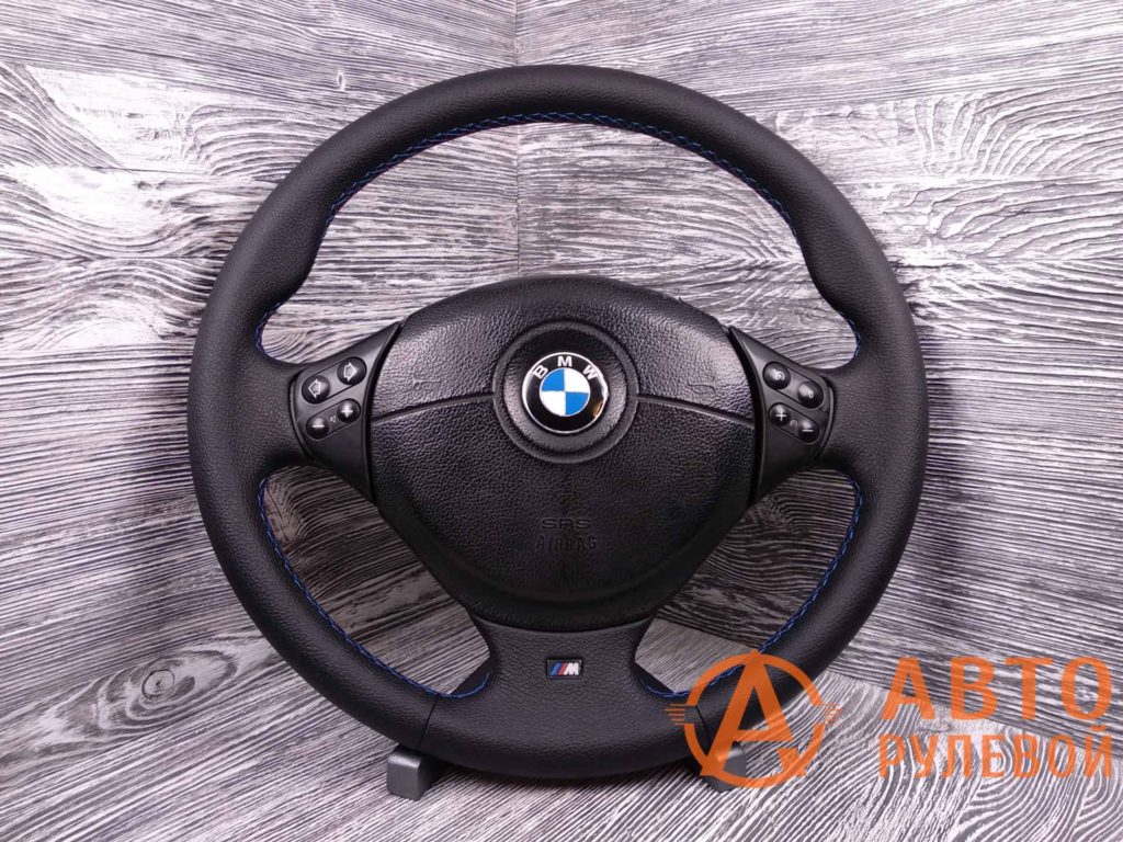 Перетянутый руль в экокожу BMW M5 3 поколение (E39) 1998