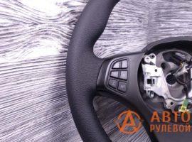 Перетянутый руль в экокожу BMW X5 1 поколение (E53) — рестайлинг 2006 - 1