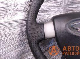 Перетянутый руль в экокожу Chery M11 1 поколение 2014 - 1