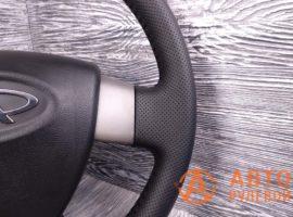 Перетянутый руль в экокожу Chery M11 1 поколение 2014 - 2