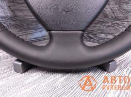 Перетянутый руль в экокожу Chery M11 1 поколение 2014 - 3