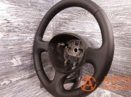 Перетянутый руль в экокожу Fiat Doblo 1 поколение (223) - рестайлинг 2007 вид сбоку - 3