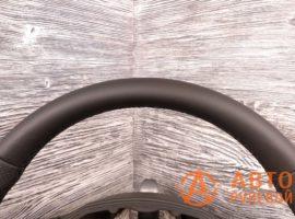 Перетянутый руль кожу Skoda Superb 2 поколение (3T) - рестайлинг 2015 - 2