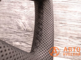 Шов макраме на руле Skoda Superb 2 поколение (3T) - рестайлинг 2015 - 2